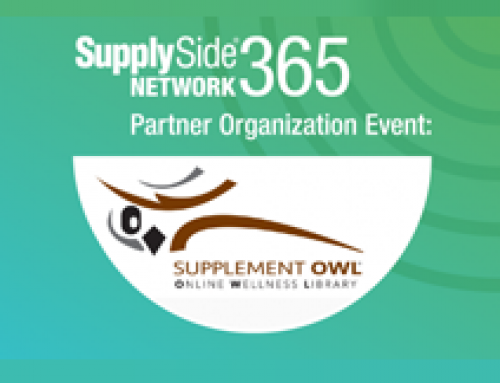 Companies: Learn about the Supplement OWL on SupplySide Network 365